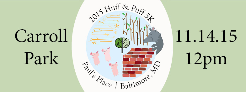 Paul's Place 2015 Huff & Puff 5K
