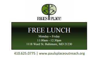 Free Lunch Cards