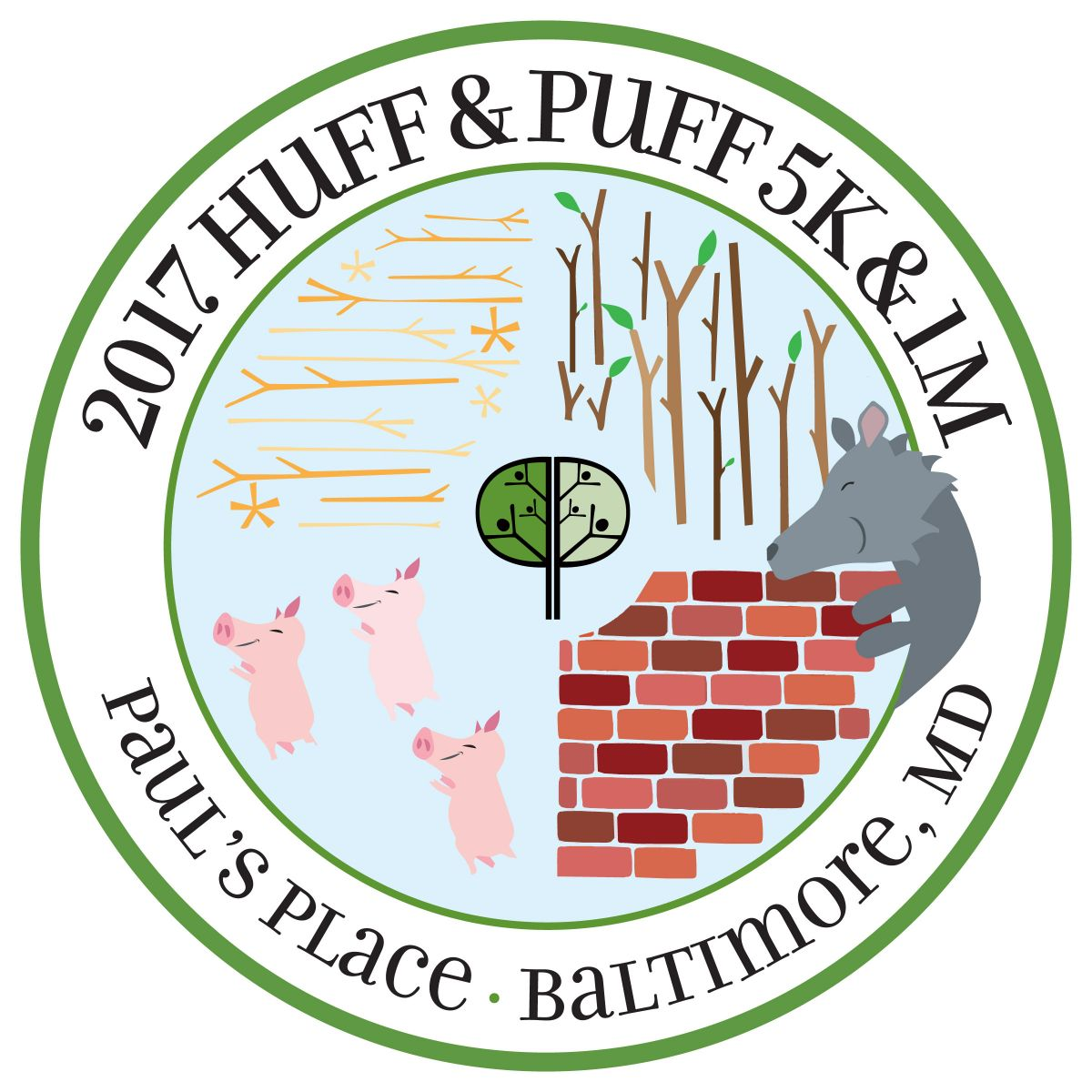 fa2b428e430 Huff & Puff 5K & 1M: Take One More Step for Paul's Place!