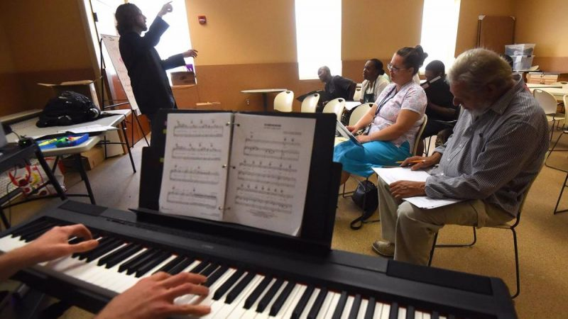 People in need raise voices in 'a Baltimore choir of hope'