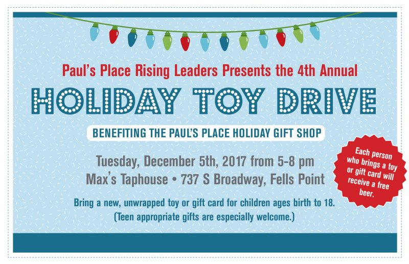 Rising Leaders' Toy Drive – Donation Page